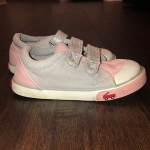 ⭐️SALE⭐️ See Kai Run Pink and Gray Shoes